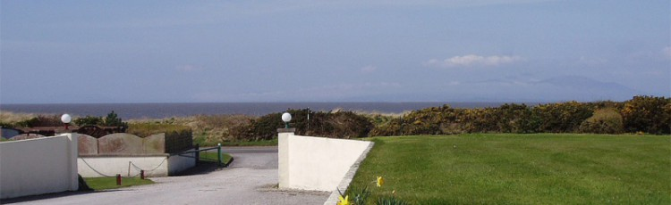 Site Entrance Overlooking The Solway
